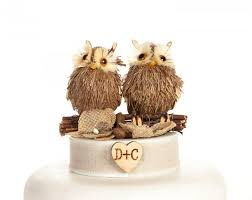 Rustic Owl Cake Topper