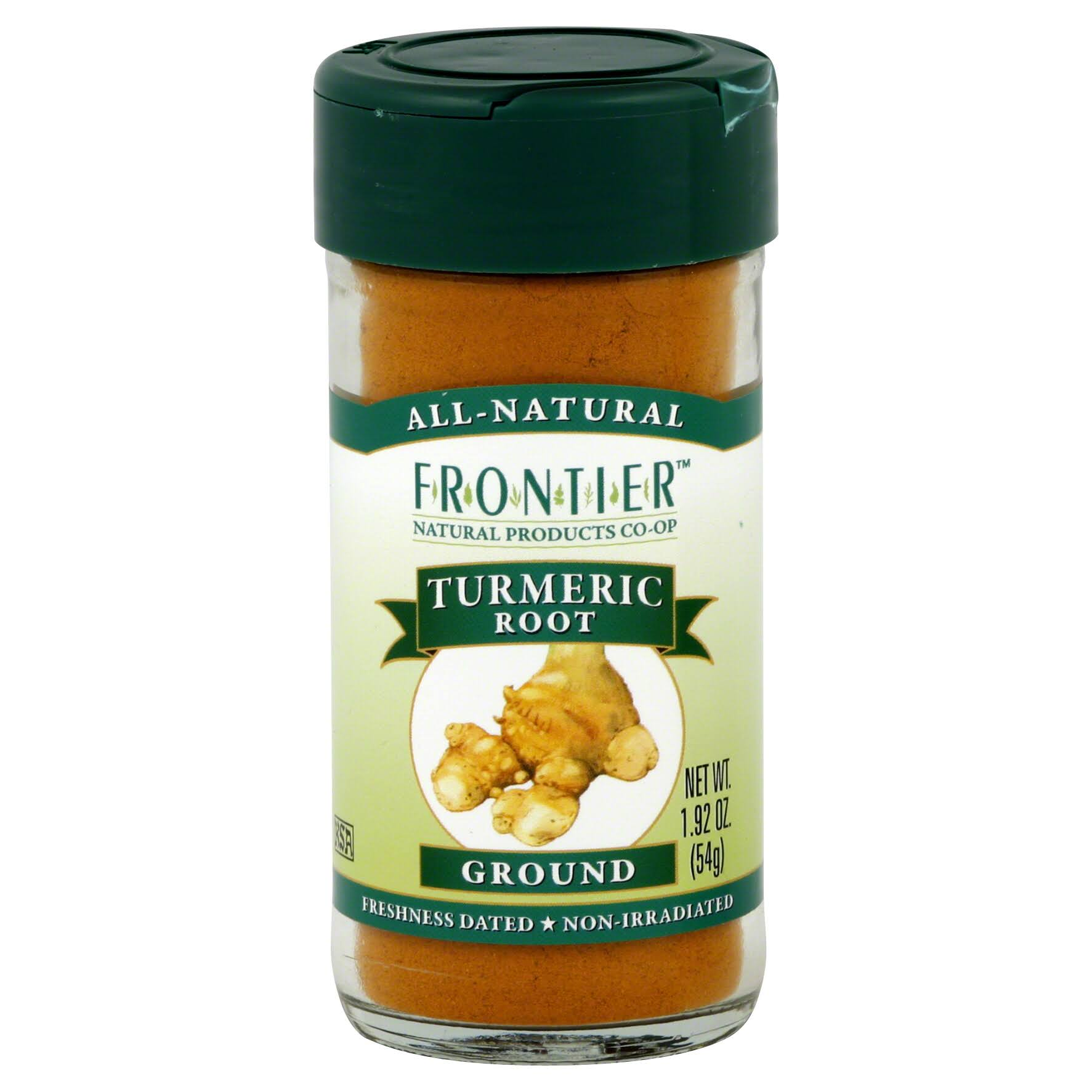 Frontier Turmeric Root Ground - 1.92oz