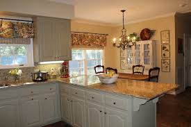 Kitchen Makeovers Bow Window Treatments Curtain Ideas For Large Windows Venetian Blinds Bay
