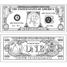 Dollar Bill Craft For George Washington Lesson Découpage 2018