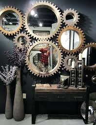 Wall Decor Gears Industrial Design Industrial Decor Gear Mirrors