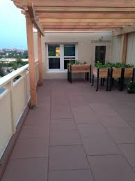unity pavers rubber pavers rooftops patios decks