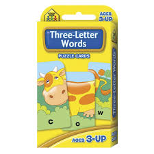 Three Letter Words Puzzle Cards Kmart