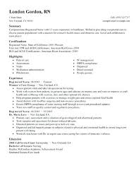Resume Samples For Nurses Create My Sample Registered Nurse Without Experience Philippines