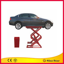 2 Post Car Lift Low Ceiling by Portable Hydraulic Scissor Car Lift Portable Hydraulic Scissor