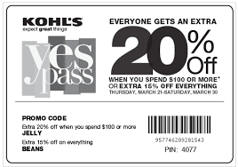 kohl s coupon 15 all in store purchases money saving mom