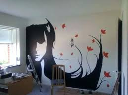 Easy Wall Painting Design Awesome Designs With Paint Additional