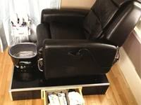T4 Stellar Pedicure Chair by Topic Pipeless Pedicure Spa Chairs Nails Magazine
