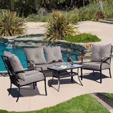 Best Patio Sets Under 1000 by Furniture 7 Piece Yellow Conversation Sets Patio Furniture