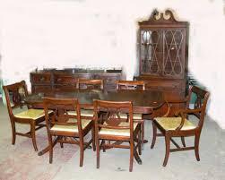 3 Antique Dining Room Set Value Nobby Design Ideas Furniture 1930 Surprising