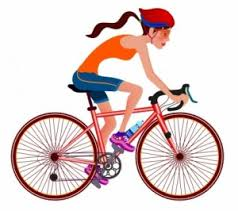 Person Riding Bike Clip Art 752643