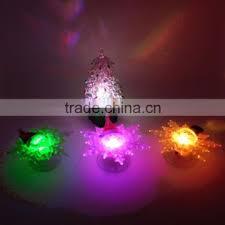 Flashing Small Led Christmas Tree Light Rgb Cone Lights Plastic Holiday Lighting