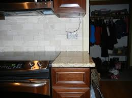 is this how the tile backsplash should end