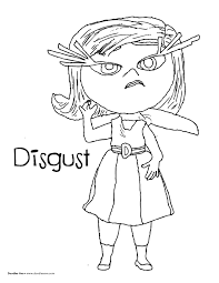 Disgust Inside Out Disney