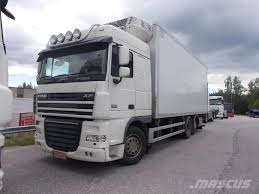 100 Truck Reefer Used DAF XF105460 Reefer S Year 2010 Price US 33890 For