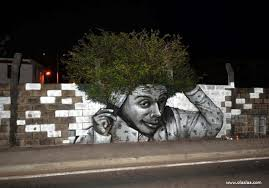 Funny Creative Wall Painting
