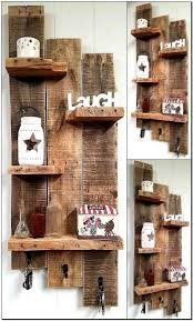 Easy Pallet Ideas How To Make A Shelving Unit Out Of Pallets Throughout Diy For Garage
