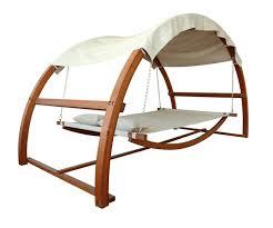 amazon com leisure season sbwc402 swing bed with canopy garden