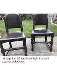 Vintage Pair Of Leather Chairs Antique Jacobean Distressed Walnut Library Refectory Sofa Set Of 6 Jacobean Style Ding Chairs English Charles Ii Walnut Arm Chair Amazoncom Outdoor Camping Chairfolding Chairultra Light Vintage Pair Leather Chairs Contemporary Pottery Barn Folding Teak Rocking A Pair Buy Pad With Ties Gem Blue Floral Arden Selections Ashland Cushion Oak Monks Bench Portable Foldable Mini