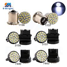 100pcs lot 3020 22 SMD Led Bulbs 1156 BA15S 1157 BAY15D T20 3156