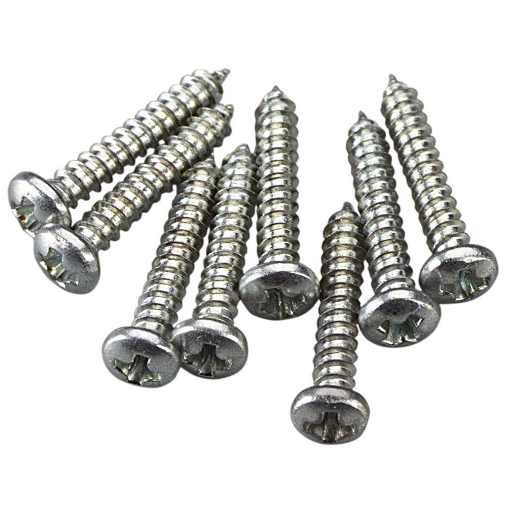 "Great Planes GPMQ3152 Sheet Metal Screws - 2 1/2"", 8pcs"