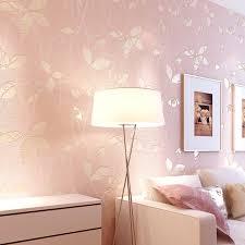 beibehang 3d blätter pastoralen tapeten warme rosa schlafzimmer schlafzimmer voller boden sofa tv zurück boden tapete wand papier