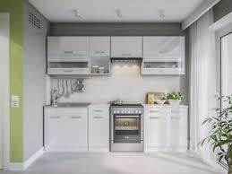 küche alina weiss hochglanz küchenzeile küchenblock