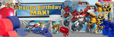 Parade Float Supplies Now by Transformers Party Supplies Shindigz