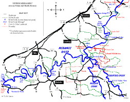 Upper Meramec River Map