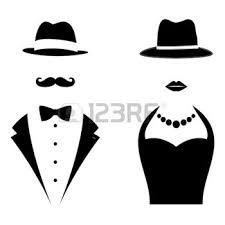 toilettes hommes femmes symboles monsieur et une dame homme et