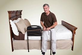 bedding wonderful bed rails for seniors elderly woman hospital