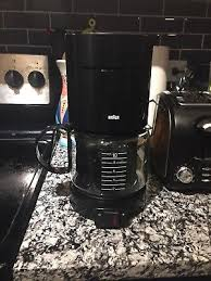 Braun Aromaster KF 400 Type 4085 10 Cup Coffee Maker Black 900W W