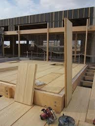 maison bois lamelle colle plancher et support de couverture en bois lamellé collé la