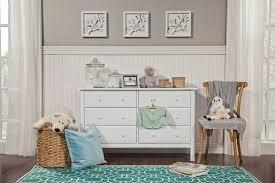 6 Drawer Dresser White by Jayden 6 Drawer Double Dresser Davinci Baby