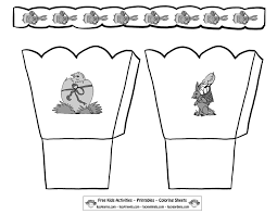 Printable Easter Bonnet Template Festival Collections