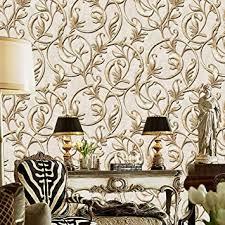 jz home a162 luxus damast tapetenrollen gold beige geprägte textur viktorianische wandtapete für zuhause schlafzimmer wohnzimmer hotels