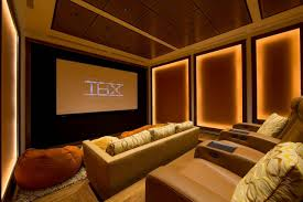 Modern Home Theater Design - [peenmedia.com] Home Cinema Design Ideas 20 Theater Ultimate Fniture Luxury Interior And Decorations Modern Theatre Exceptional View Modern Home Theater Design 11 Best Systems Done Deals Contemporary Living Room Build Avs Room Cozy Ideas Inside Large Lcd On Blue Wooden Tv Stand Connected By Minimalist Awesome Houston Photos Decorating Pictures Tips Options Hgtv Basement Ashburn Transitional