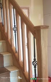 Oak Chamfered Spindles With Abbott-Wade's Black Basket Spindle ... How To Calculate Spindle Spacing Install Handrail And Stair Spindles Renovation Ep 4 Removeable Hand Railing For Stairs Second Floor Moving The Deck Barn To Metal Related Image 2nd Floor Railing System Pinterest Iron Deckscom Balusters Baby Gate Banister Model Staircase Bottom Of Best 25 Balusters Ideas On Railings Decks Indoor Stair Interior Height Amazoncom Kidkusion Kid Safe Guard Childrens Home Wood Rail With Detail Metal Spindles For The