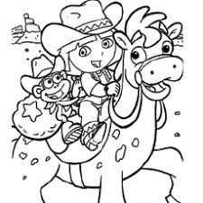 Printable Coloring Pages For Girls Dora