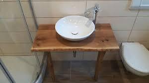 waschtischplatte 80 cm massiv holz waschtisch waschbecken