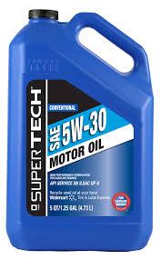 supertech 5w30 motor oil 5 quart walmart com