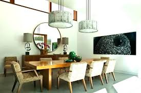 Contemporary Drum Lamp Shades Shade Elegant In Dining Room With Mid