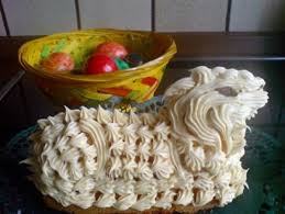 kuchen osterlamm