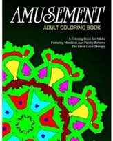 Amusement Adult Coloring Book Volume 4 Relaxation Books For Adults