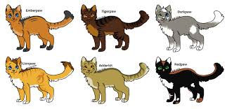 warrior cat names warrior cat adopts 1 apprentice s closed by evertooth on deviantart