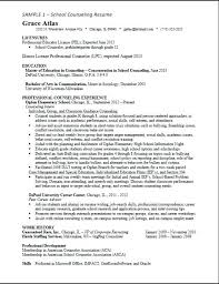 School Counselor Resume Examples Mental Health Template Make T File Me Career