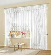 details zu goldfaser fertiggardine vorhang store weiss lang gardinen deko blumenfenster