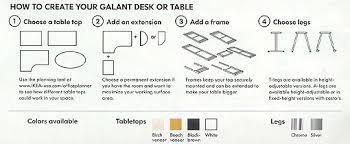 Ikea Galant Desk User Manual by Ikea Galant Desk Instructions Desk Design Ideas