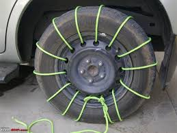 How To Get Snow Chains In India - Team-BHP