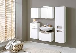 bad waschbeckenunterschrank siena 1 auszug 60 cm breit hochglanz weiß eiche sonoma sonoma